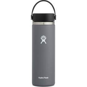 Hydro Flask Wide Mouth Bidón con Tapa Flex 591ml, gris
